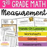 3rd Grade Measurement Unit {Reading a Ruler to the Nearest 1/4 Inch}
