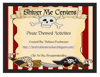 Shiver Me Pirates Activity Centers