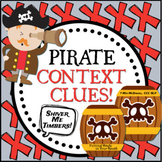 Pirate Context Clues (using Pirate Talk!)