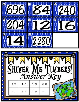 Shiver Me Timbers!  It's Time to Convert Measurements (TEKS 4.8B) STAAR Practice