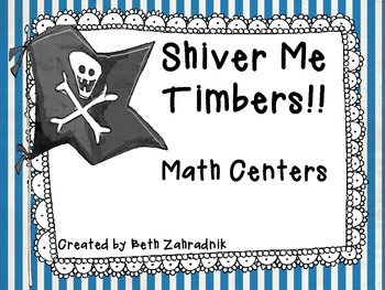 Shiver Me Timers Math Centers