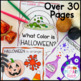 Shivery Shades of Halloween Companion Pack: What Color is