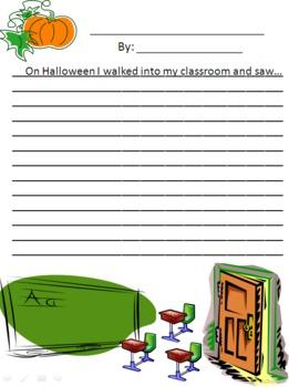 Shocking Halloween Creative Writing
