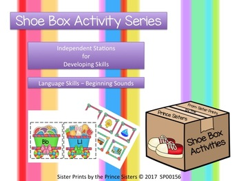 Shoe Box Activities: Easter Beginning Sounds