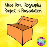 EDITABLE Shoe Box Biography Project & Presentation (Think