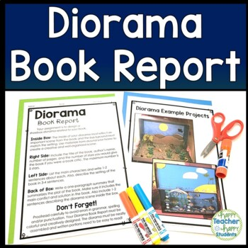 Shoe Box Diorama Book Report: Diorama for a Fiction or Non-Fiction Book!