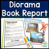 Shoe Box Diorama Book Report Template: Perfect for Fiction