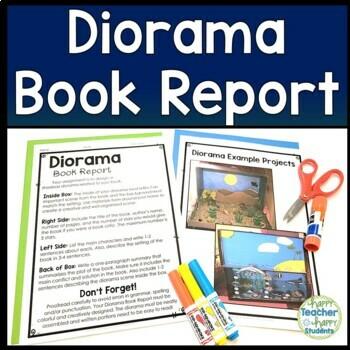 Shoe Box Diorama Book Report: Diorama for a Fiction or Non