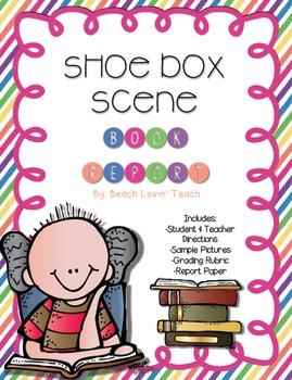 Shoe Box Scene Book Report