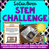 Solar Oven STEM Activity (Solar Cooker Earth Day Activity)