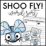 Shoo Fly! Long I Word Sort {CVCe, IGH, IE, & Y} | Long I Sort | Long I Activity