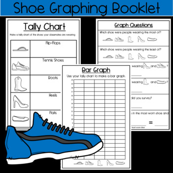 Shoe Graphing Book: Fun Data Practice!