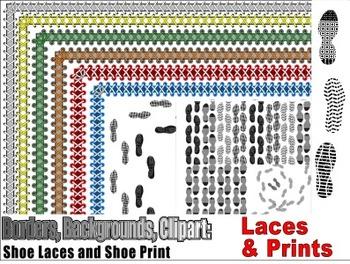 Shoe Laces & Shoe Prints