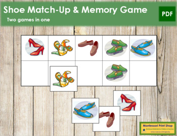 Shoe Match-Up and Memory