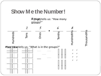 Show Me the Number!