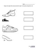 Shoe Measurement Worksheet