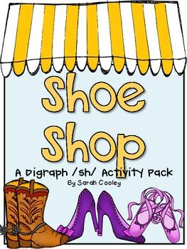 Shoe Shop:  A Digraph /sh/ Activity Pack