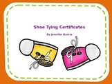 Shoe Tying Certificate!