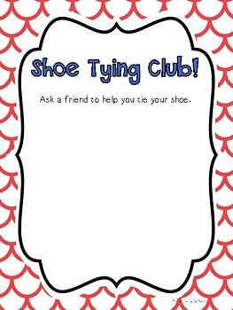 Shoe Tying Club