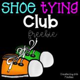 Shoe Tying Club Freebie