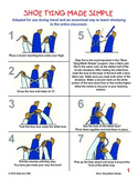 """Shoe Tying Made Simple"" Travel Instructions"