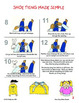 """""""Shoe Tying Made Simple"""" Travel Instructions"""