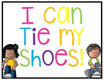 Shoe Tying Team *Freebie*