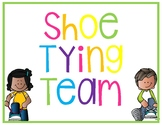 Shoe Tying Team *Freebie*