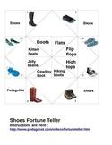 Shoe Types Fortune Teller