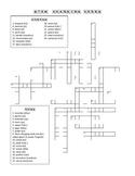 Shoe Verb Crossword Puzzle