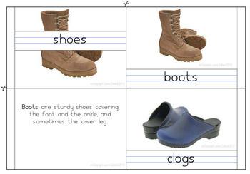 Shoe types