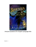 Shoeburn and the Ill-Fitting Necklace novel study questions