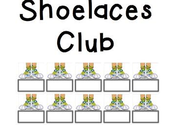 Shoelaces Club (Fine Motor)