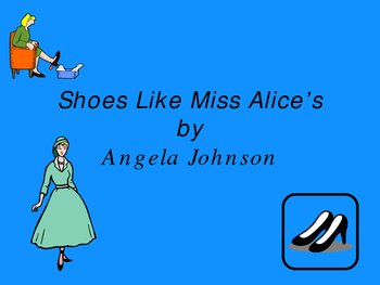 Shoes Like Miss Alice's PowerPoint