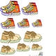 Shoes Size Sequencing and Sorting Activity