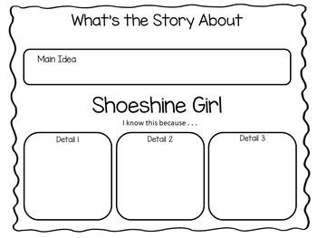 Shoeshine Girl ~ 50 pgs of Common Core Activities