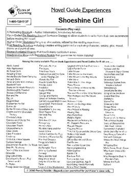 Shoeshine Girl Literature Guide