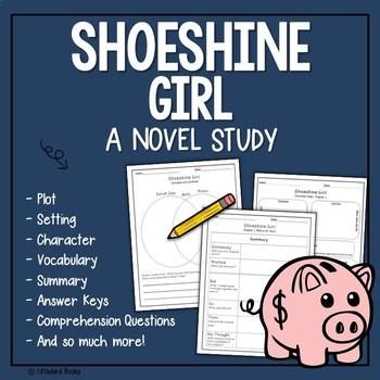 Shoeshine Girl Novel Study {Focus Skill: Summarizing}
