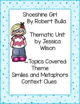 Shoeshine Girl Thematic Unit