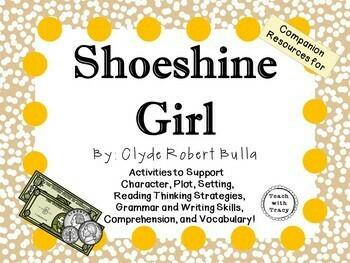 Shoeshine Girl by Clyde Robert Bulla: A Complete Novel Study!