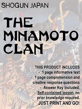 Japan under the Shoguns - Minamoto Clan NO PREP!