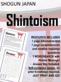 Japan under the Shoguns - Shintoism NO PREP!