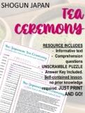 Japan under the Shoguns - The Tea Ceremony NO PREP!