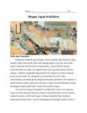 Shogun Japan Worksheet (Packet)