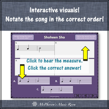 Shoheen Sho - Soprano Recorder Visuals (Notes GAB)