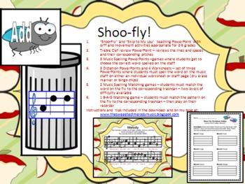 Shoo-Fly Bundled Set
