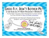 Shoo Fly, Don't Bother Me! CVC/High-Frequency Word Recognition Fly Swat Game
