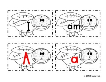 Shoo Fly, Don't Bother Me! Letter/Word Recognition Fly Swat Game