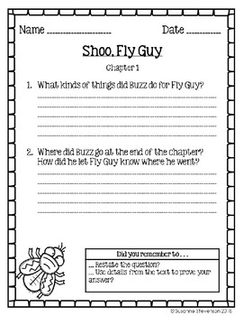 Shoo, Fly Guy!