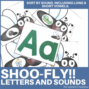 Shoo Fly!! Initial Sound Identification
